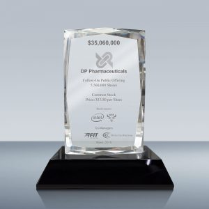 3D Photo Crystal Plaque 025
