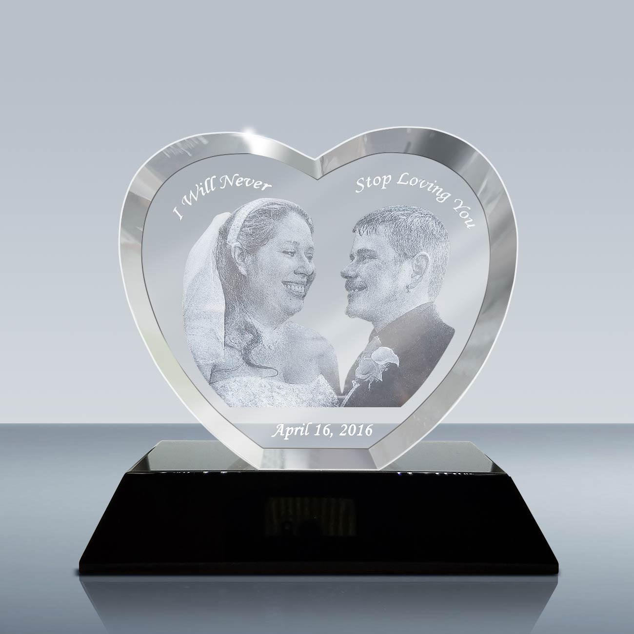 Goodcount 3D Crystal Etching Gift & Award
