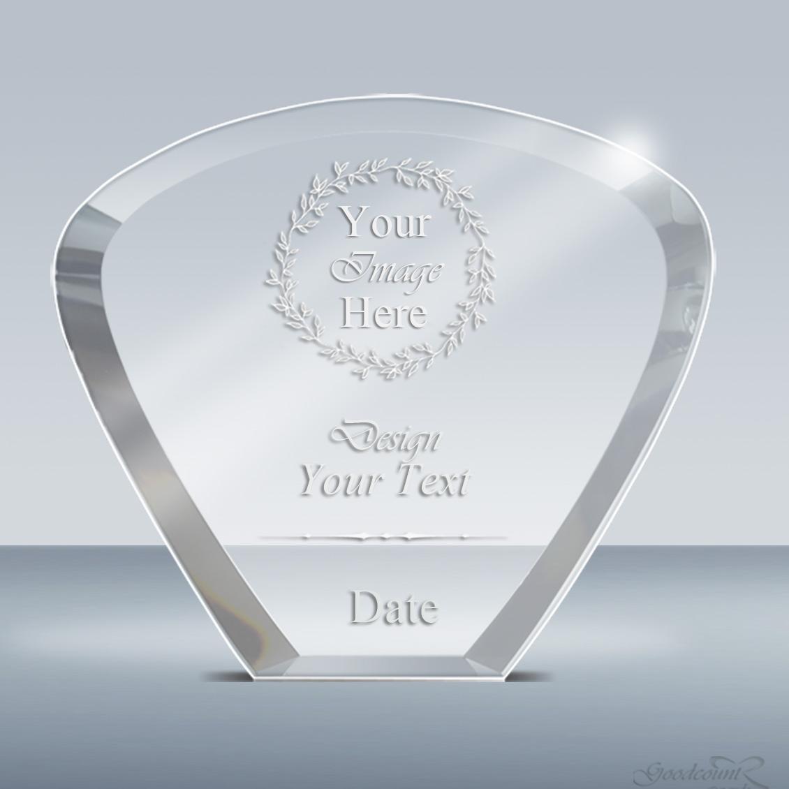 Build Your Own Award-Crystal Moon Plaque (009) – Goodcount