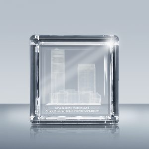 3D crystal Award-A1804