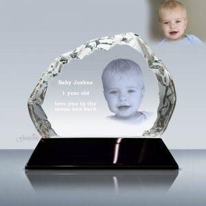 3d 2d crystal ething cube-B2057-Design-A